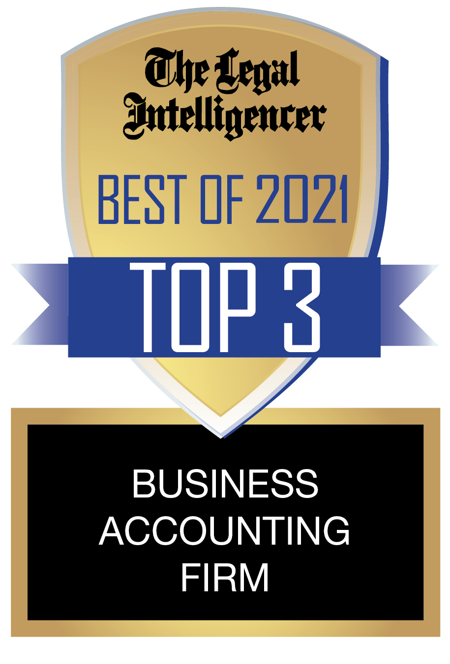 Legal Intelligencer - Top 3 Accounting Firm 2021