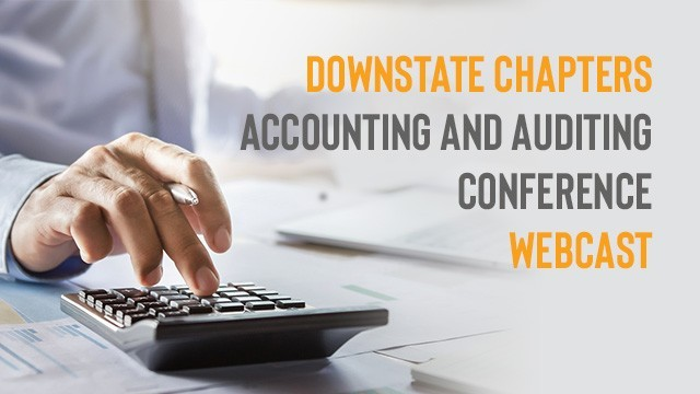 Image: NYSSCPA Downstate Chapters Accounting and Auditing Conference Webcast