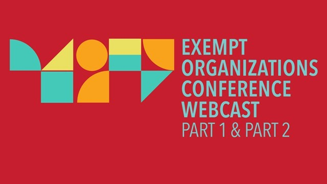 Image: NYSSCPA Exempt Organizations Conference Webcast
