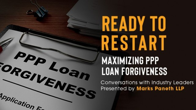 Image: Ready to Restart: Maximizing PPP Loan Forgiveness