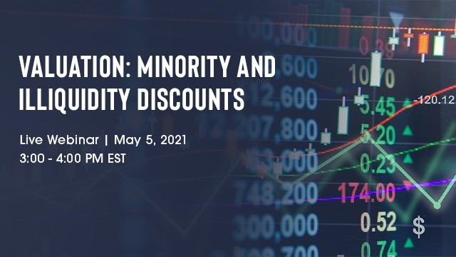 Image: Valuation: Minority and Illiquidity Discounts