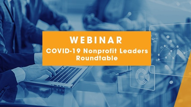 Image: COVID-19 Nonprofit Leaders Roundtable