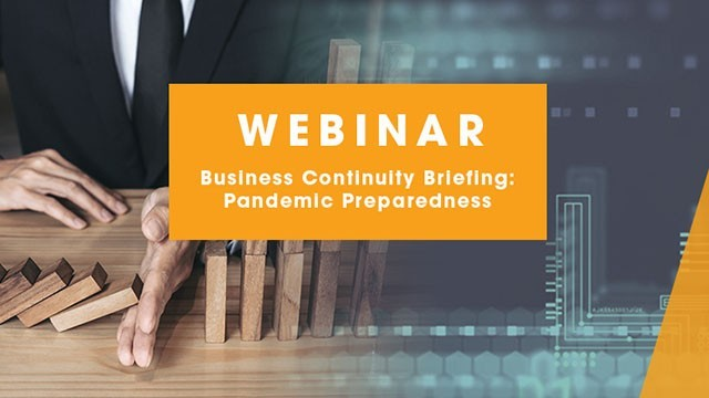 Image: Business Continuity Briefing: Pandemic Preparedness